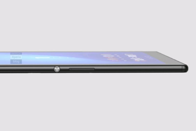 xperia z4 tablet leak