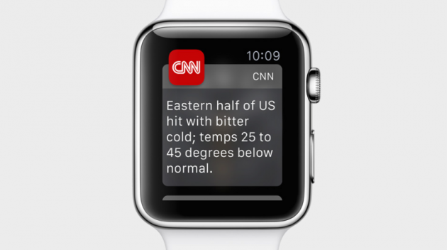 Apple Watch notifs