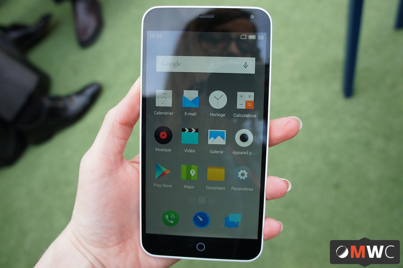 Prise en main du Meizu M1 Note sans 4G, premier étape dans ...