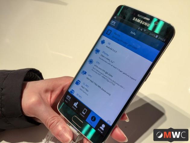 Le Samsung Galaxy S6 Edge