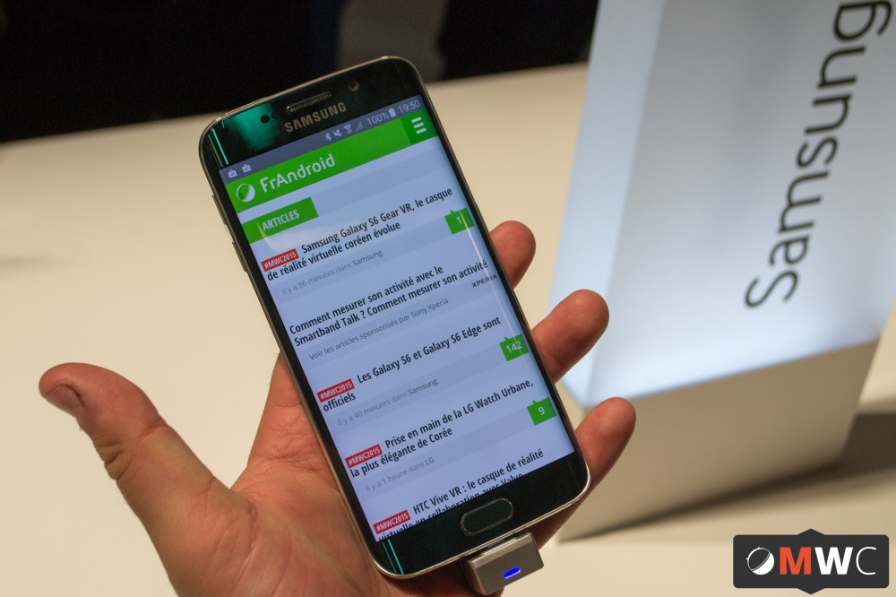 Samsung Galaxy S6 Edge (1 sur 7)