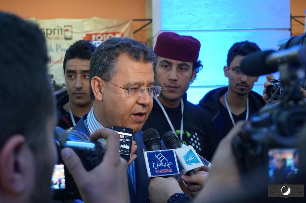Noomane Fehri, ministre tunisien des Nouvelles Technologies