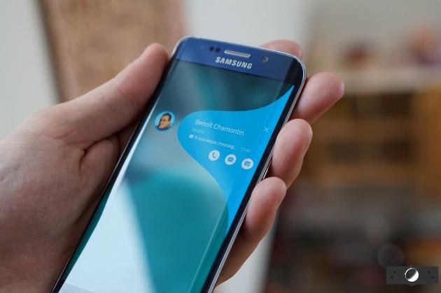 Le Galaxy S6 Edge actuel.