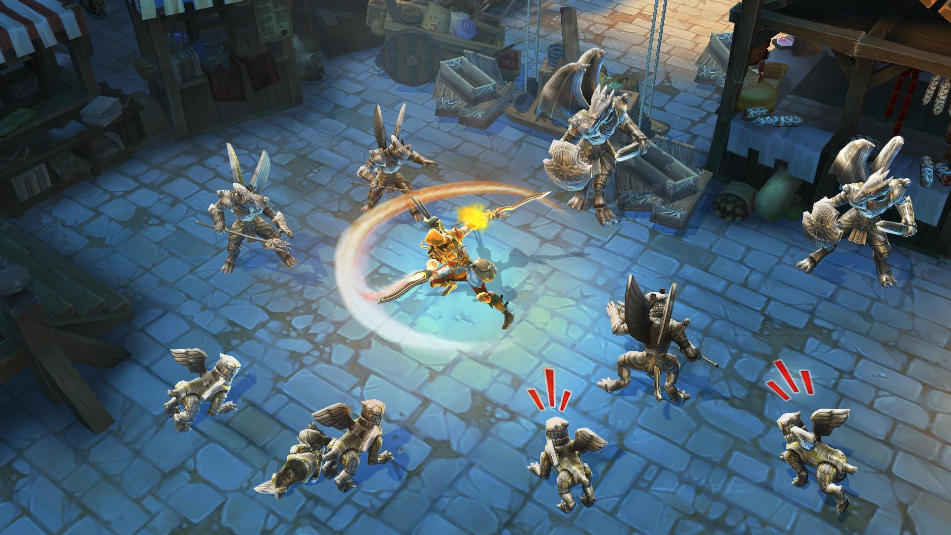 Dungeon Hunter 5 : le nouveau hack and slash de Gameloft est