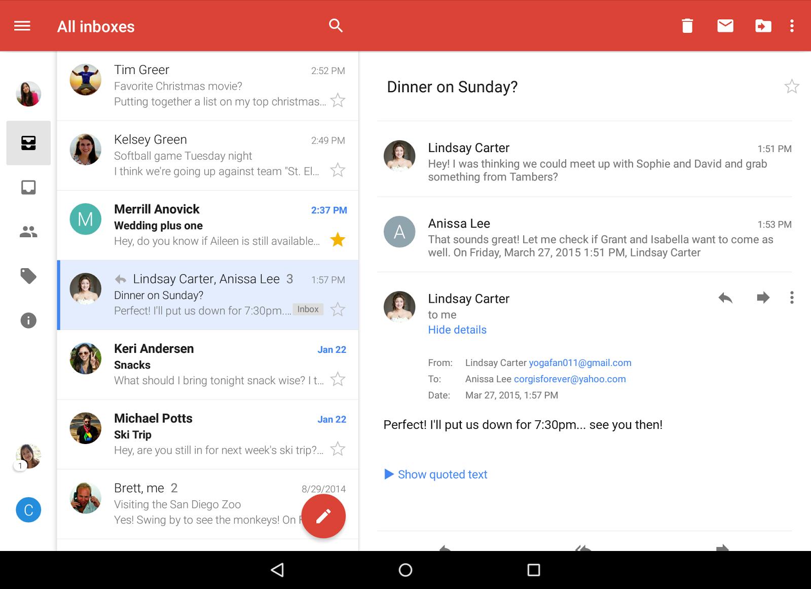 comment voir ses messages sur gmail