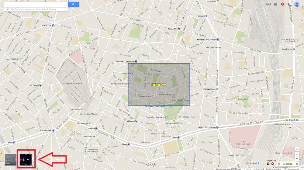 google maps pacman 2