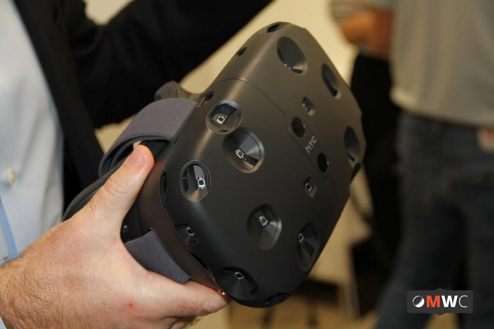 HTC VR de face