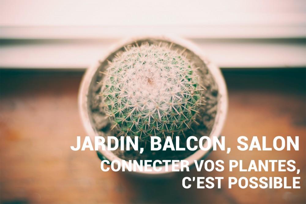 Jardin salon balcon les objets connect s au service des plantes frandroid - Jardin au balcon ...