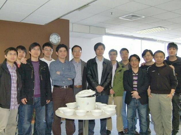 Lei Jin est une partie de son équipe