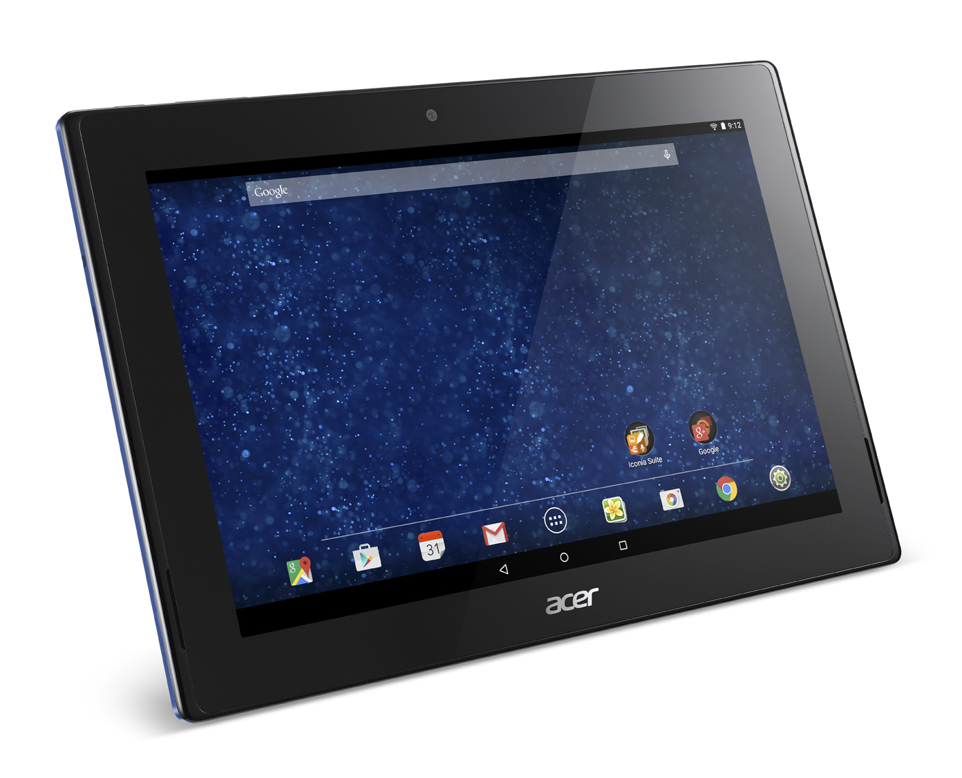 acer officialise une iconia tab 10 avec google for. Black Bedroom Furniture Sets. Home Design Ideas