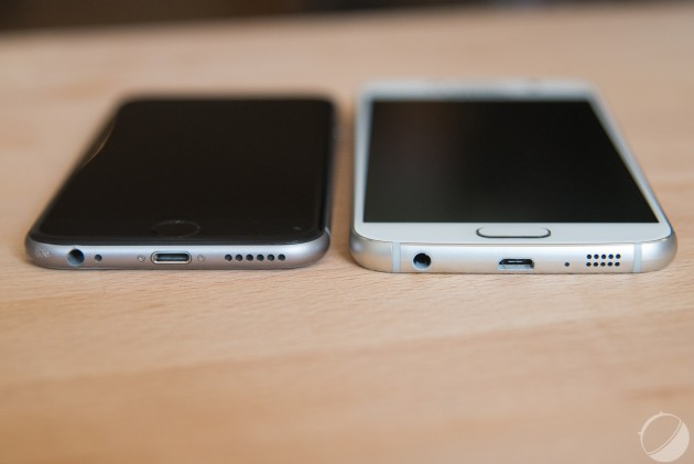 Apple iPhone 6 Samsung Galaxy S6-4