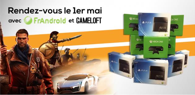 teasing jeu concours gameloft