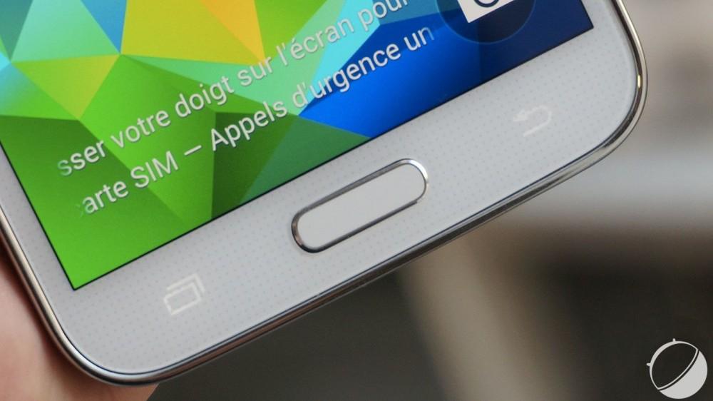 Galaxy S5 empreintes