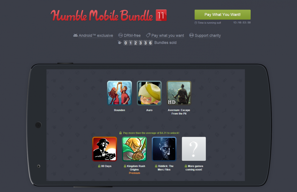 Humble Mobile Bundle 1