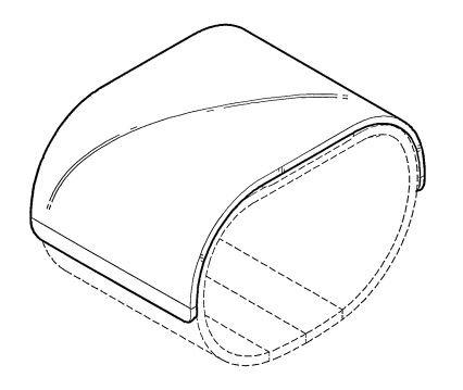 LG brevet smartphone pliable 03