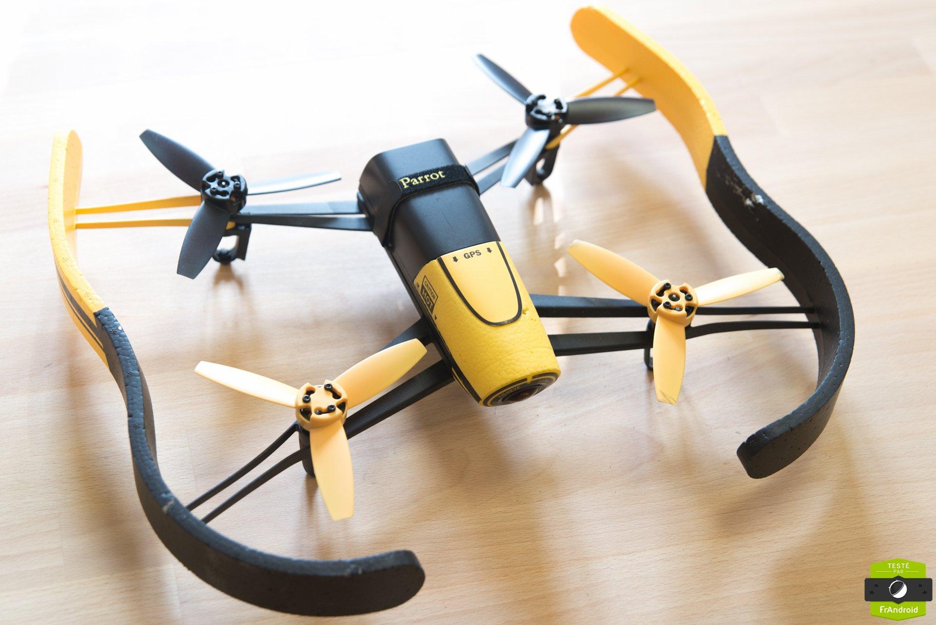 test du parrot bebop drone les vid os de vacances prennent leur envol frandroid. Black Bedroom Furniture Sets. Home Design Ideas