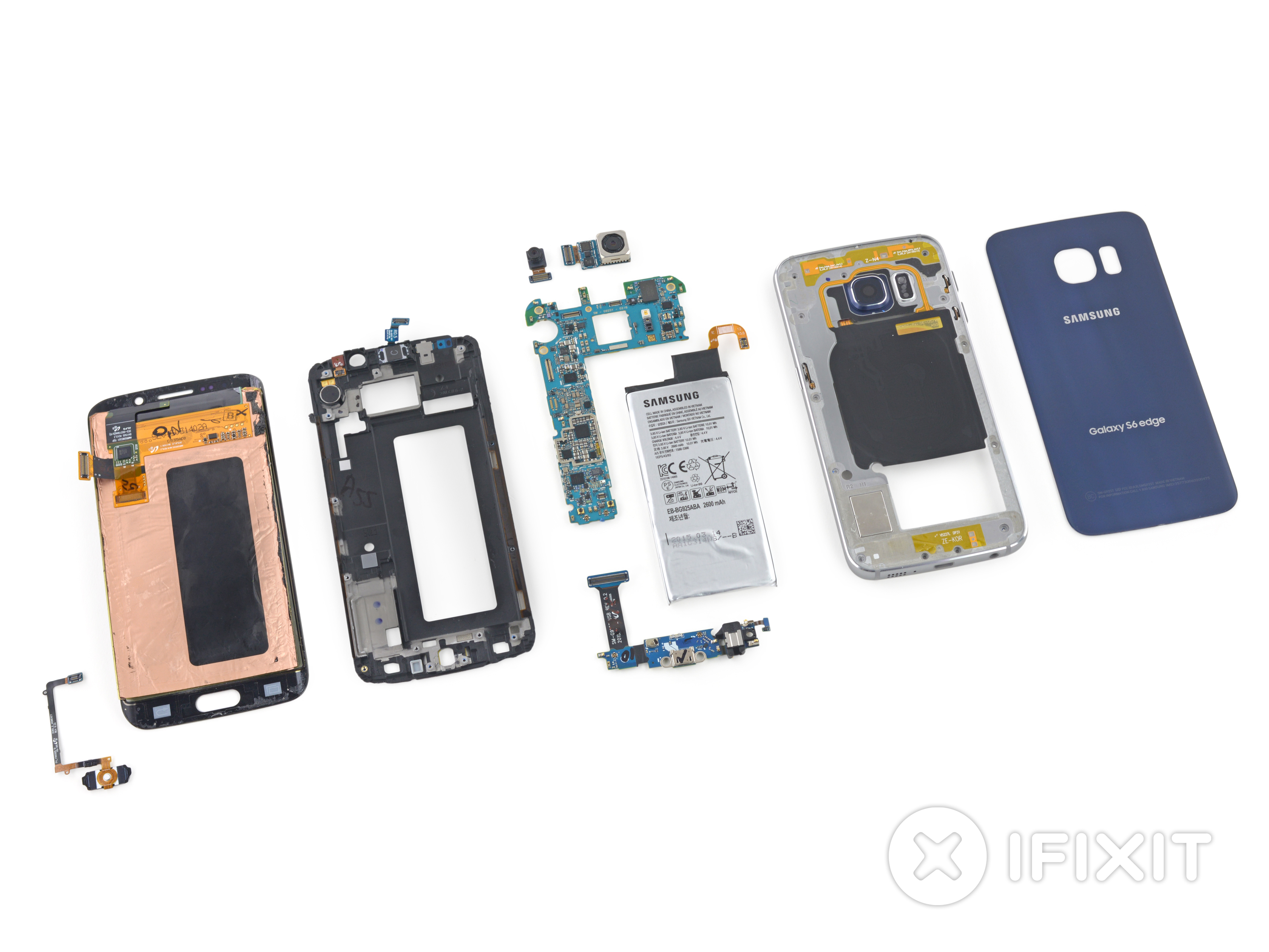 Ifixit d montage en r gle du samsung galaxy s6 edge for Despiece smart