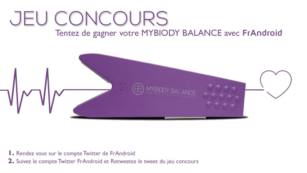 Concours MyBiody Balance