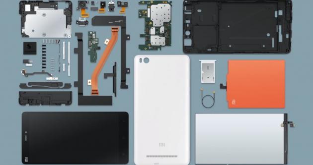 Xiaomi Mi 4i composants