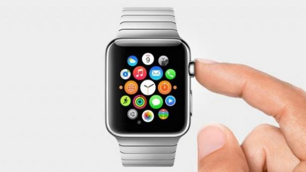 Bouton apple watch