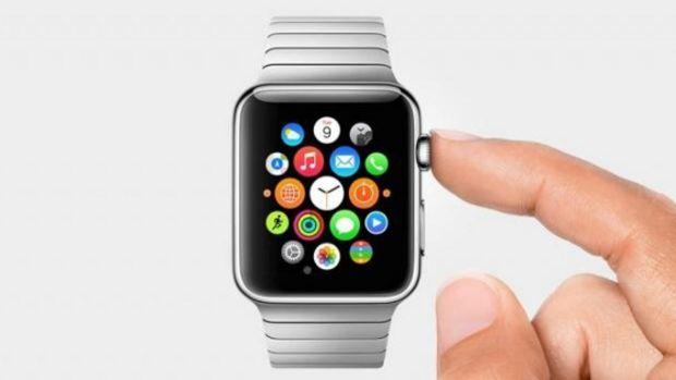 Bouton apple watch
