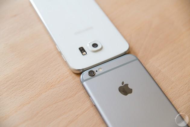 iPhone vs Galaxy S6