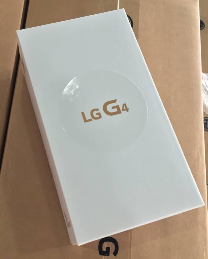 lg g4 boite