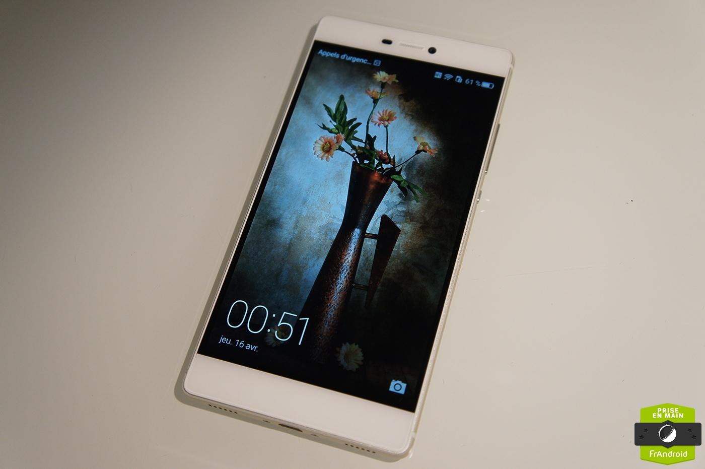 Prise en main du Huawei P8, le fleuron de la marque à ... Huawei P7 White