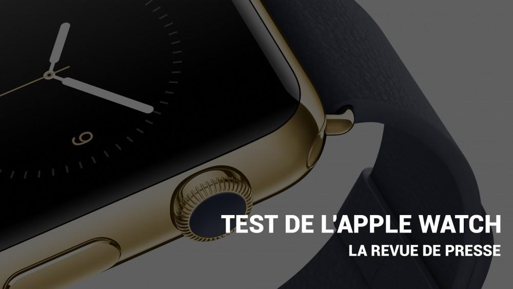 Revue de presse Apple Watch