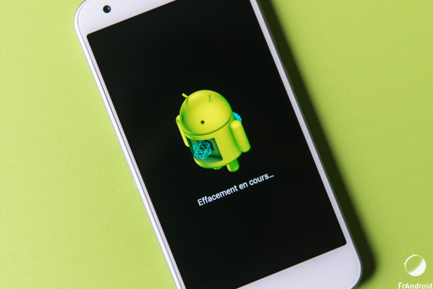 Android Factory Reset (1 sur 1)