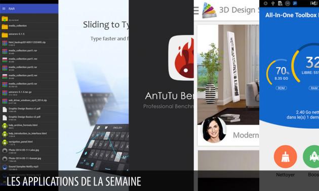 Les Apps De La Semaine Rar For Android Go Clavier