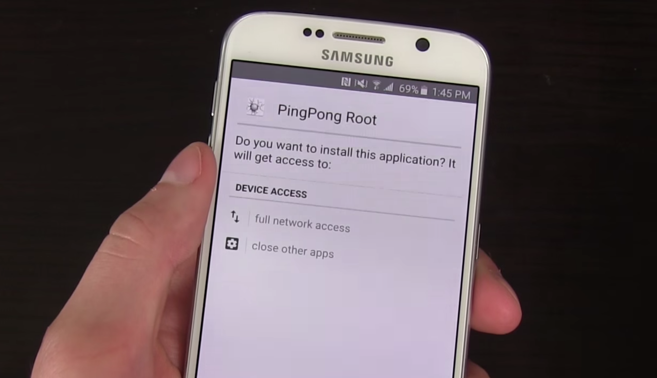 Galaxy S6 et S6 Edge : PingPong Root, l\'outil ultime pour rooter ...