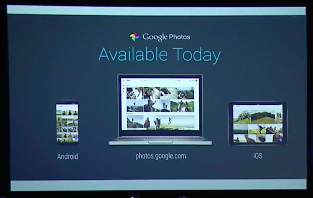 Google Photos available