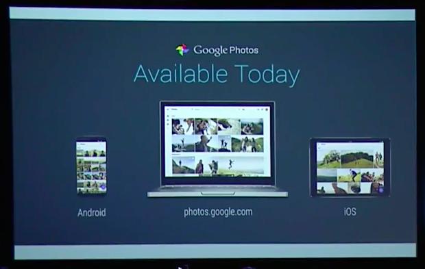 Google Photos available