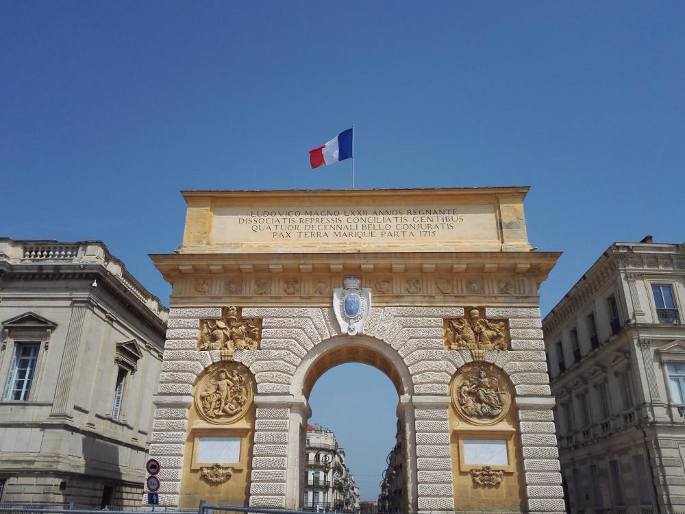arc de triomphe de Montpelier