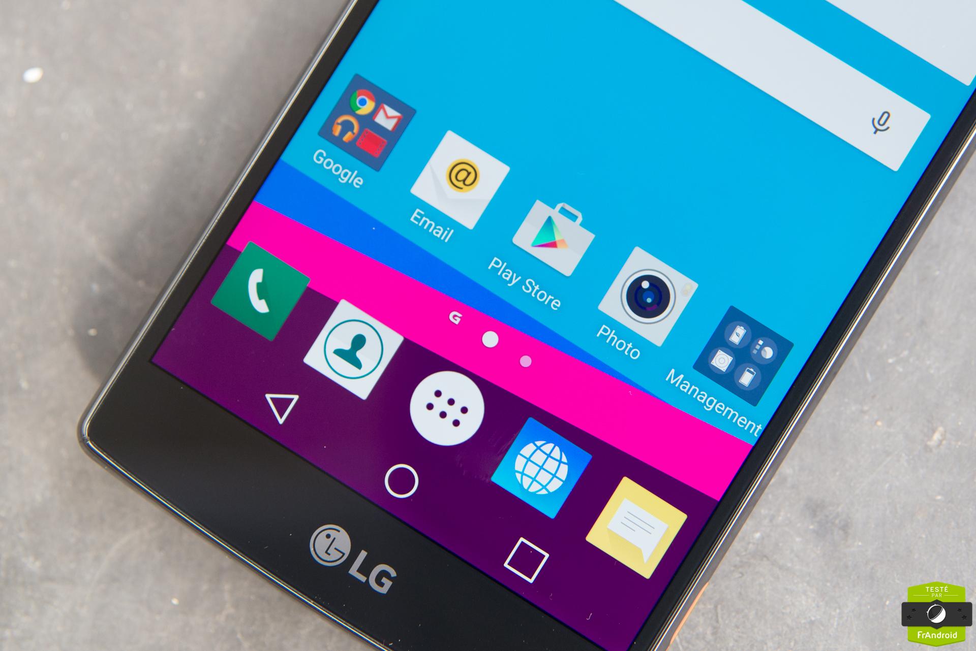 7 astuces pour mieux utiliser votre lg g4 frandroid for Test ecran photo