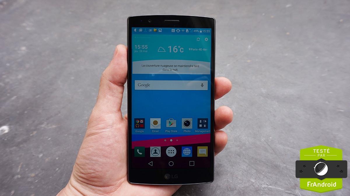 Test LG G4 Notre Avis Complet