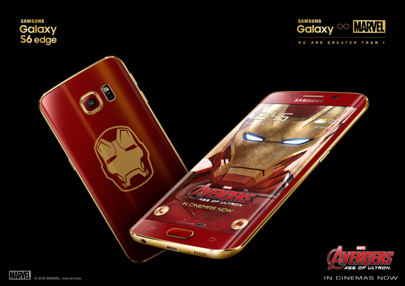 Samsung-Galaxy-S6-edge-Iron-Man-Limited-Edition-Unboxing-1