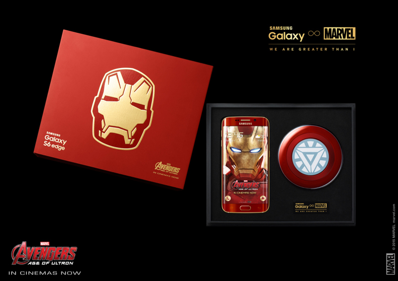 Samsung-Galaxy-S6-edge-Iron-Man-Limited-Edition-Unboxing