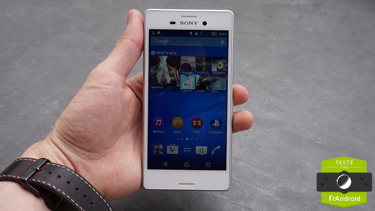 Test Sony Xperia M4 Aqua : notre avis complet ...
