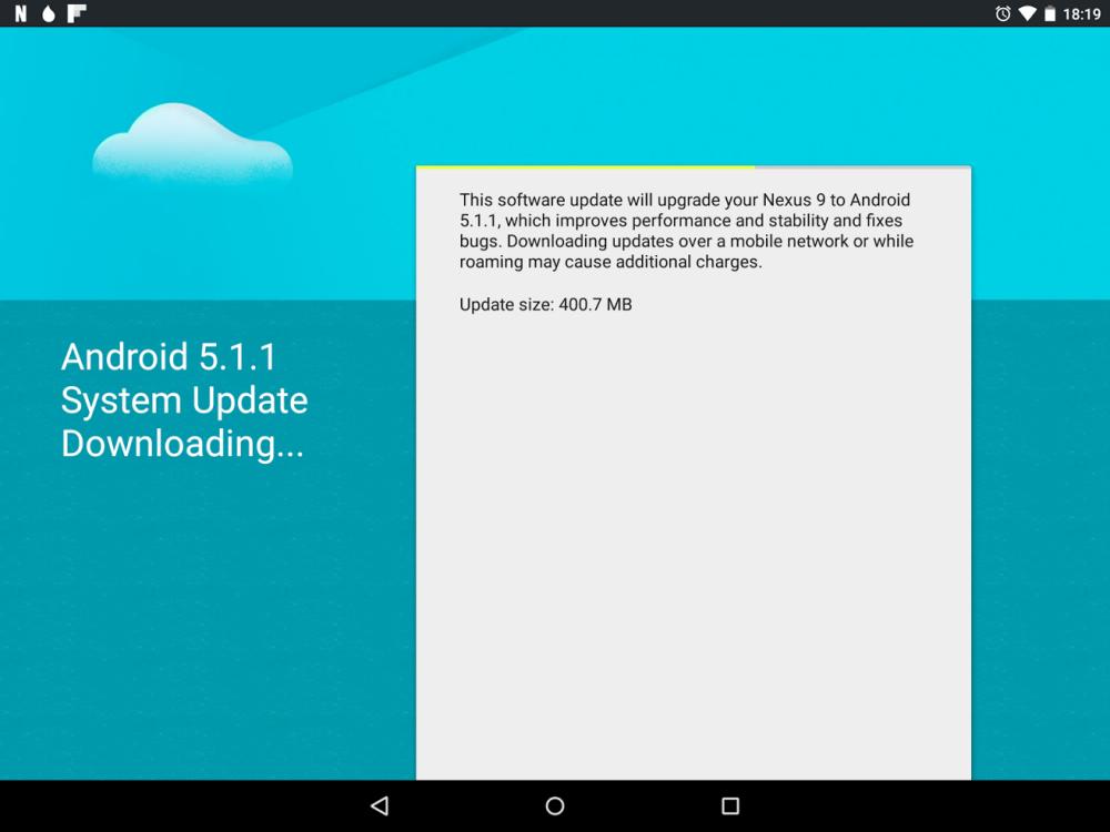 android 5.1.1 nexus 9