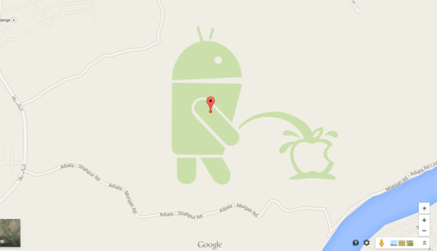 android pisse