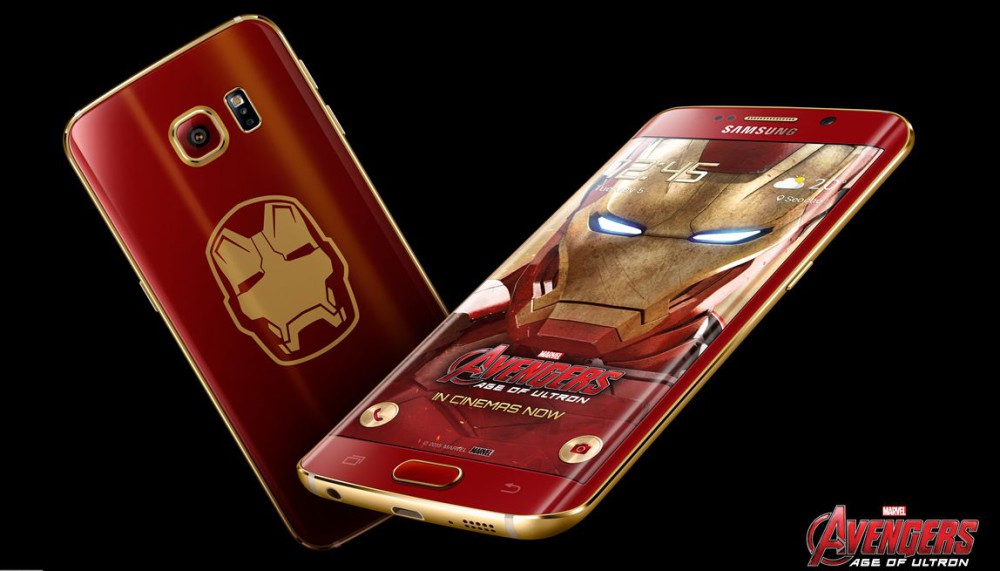 galaxy s6 edge iron man limited edition