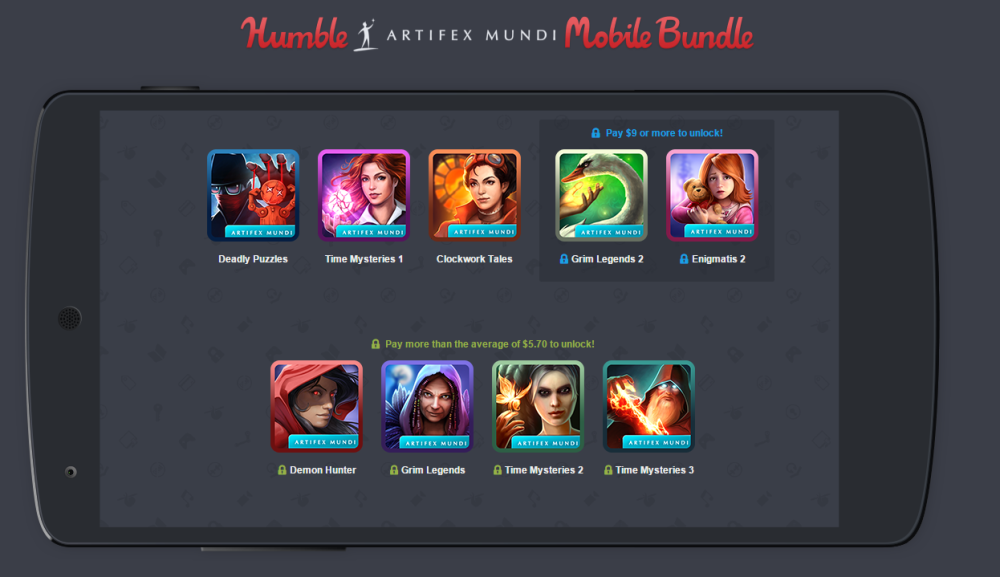humble artifex mundi mobile bundle
