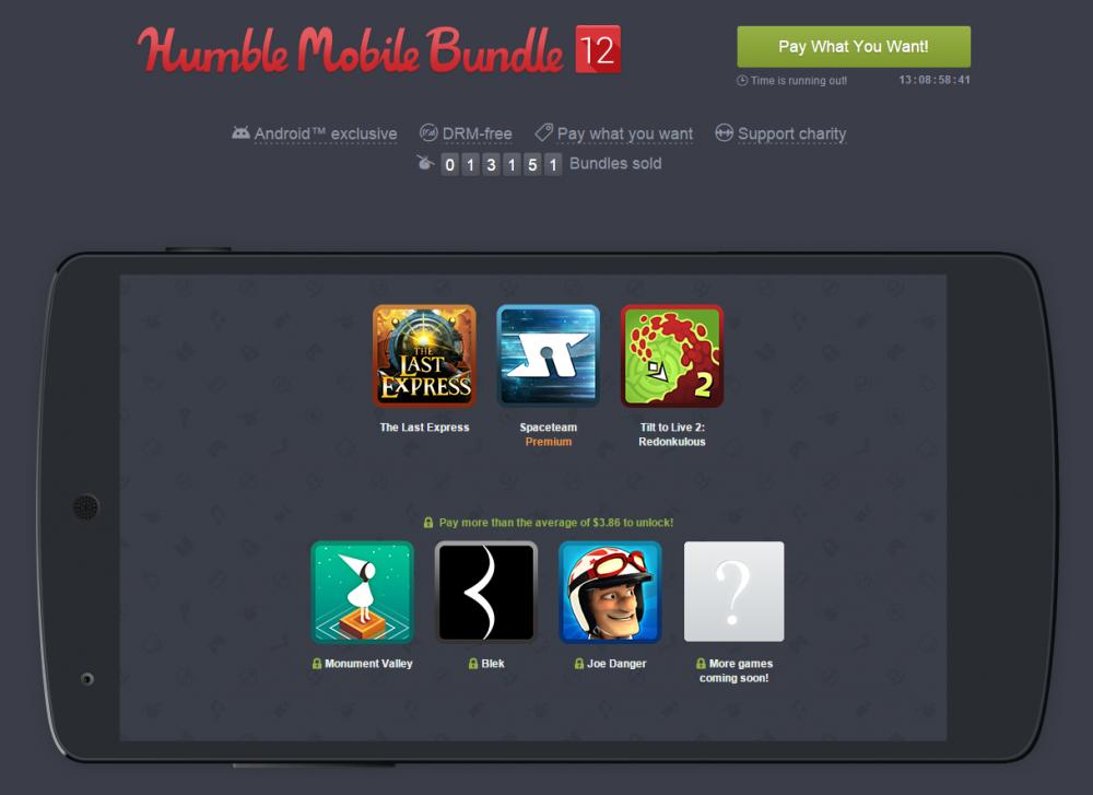 humble mobile bundle 12