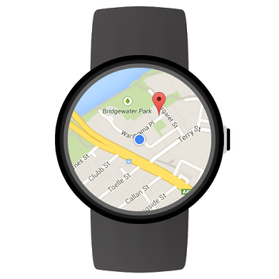 Maps sur Android Wear