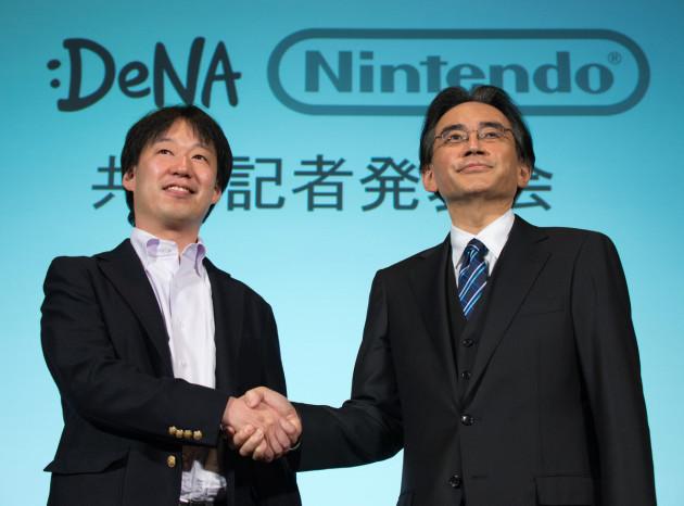 Satoru Iwata, CEO et Président de Nintendo