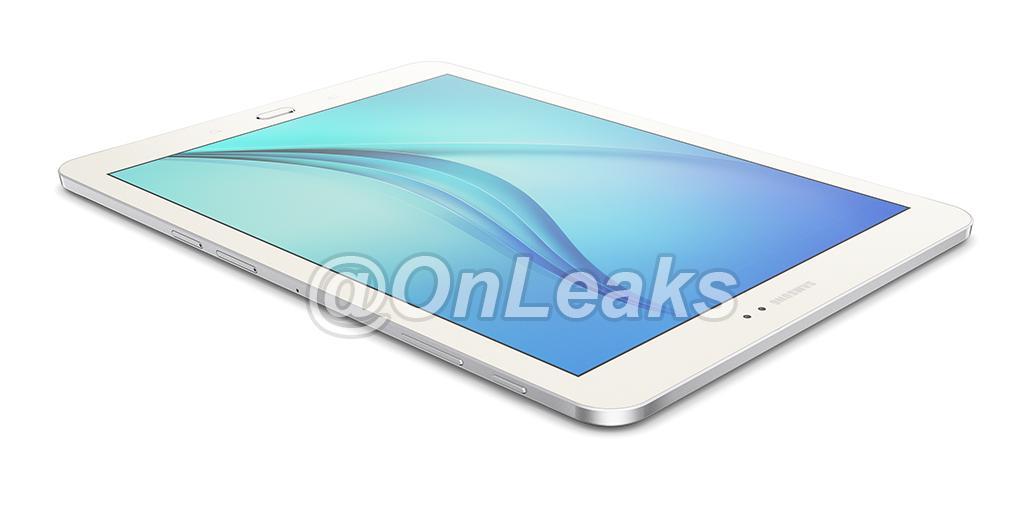 Design possible de la Samsung Galaxy Tab S2