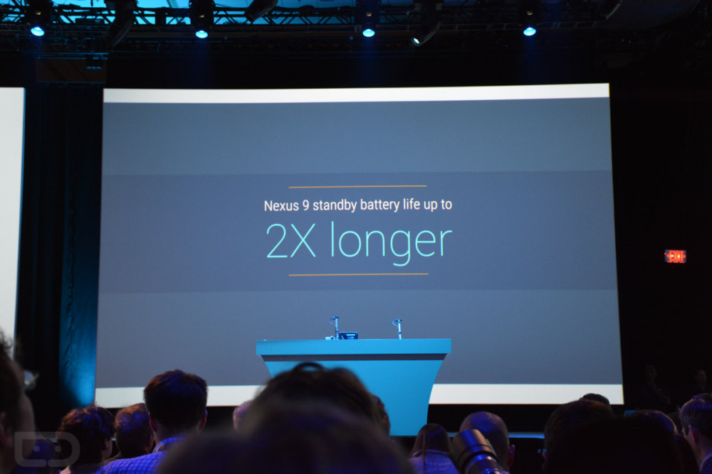 Nexus 9 longer