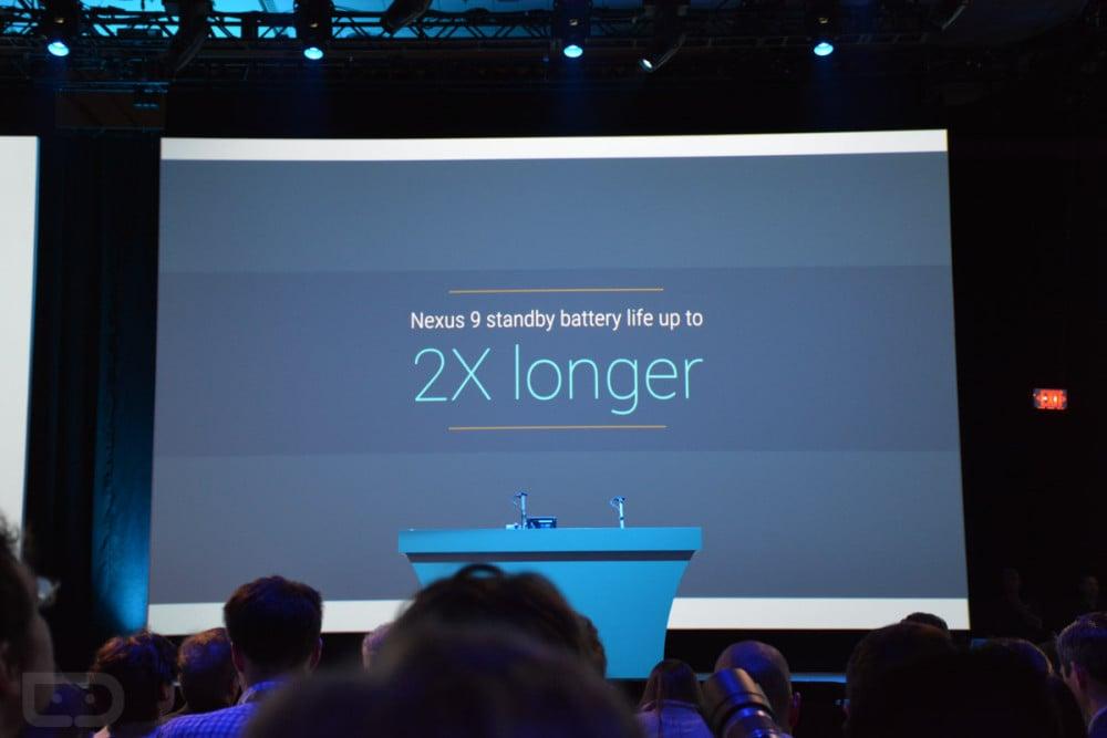 Nexus 9 longer